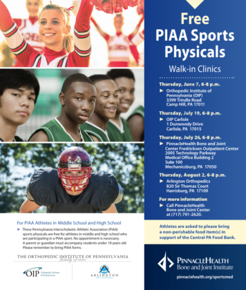 UPMC Bone & Joint Center PIAA Sports Physicals - Orthopedic